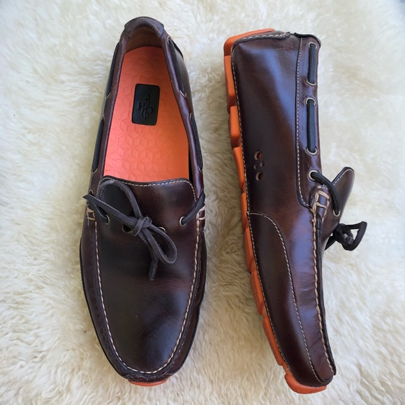 98b0712e431 Cole Haan Other - Cole Haan motogrand camp moc toe loafers brown